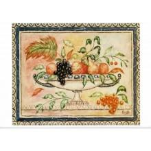 Laminas para cuadros 3D bodegon con frutas nº 3