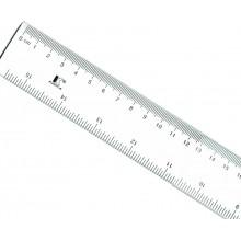 Regla plastico transparente 40 cm