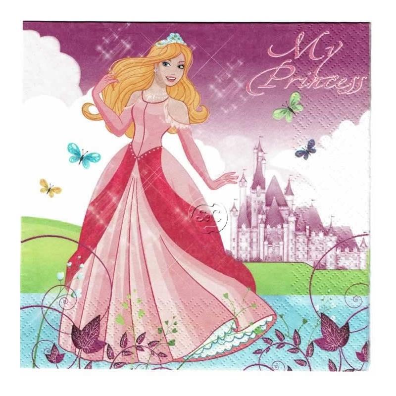 Servilleta decorada Mi princesa
