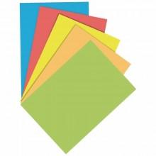 Cartulinas colores pastel DIN A4 5 colores 160 gr 25 unidades