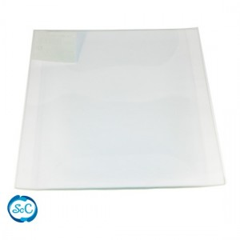 Bandeja cristal cuadrada 10 cm