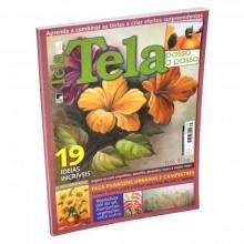 Revista pintura en tela en portugues