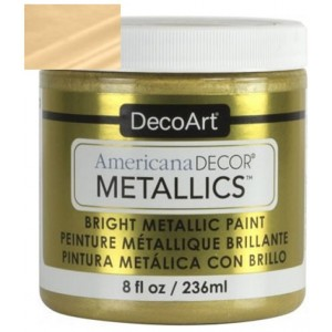 Americana Decor Metallics Oro Claro 236 ml