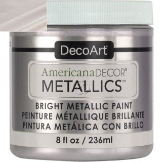 Americana Decor Metallics Silver Sterling 236 ml