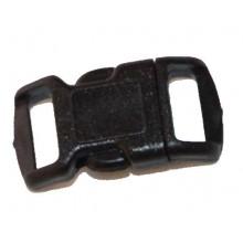 Cierre cartera pequeño negro 3 cm