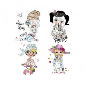 Papel sublimacion 30 x 30 cm Sweet girl