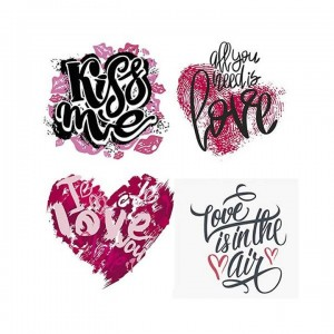Papel sublimacion 30 x 30 cm Kiss me