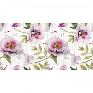 Papel sublimacion 30 x 60 cm Flowers letter