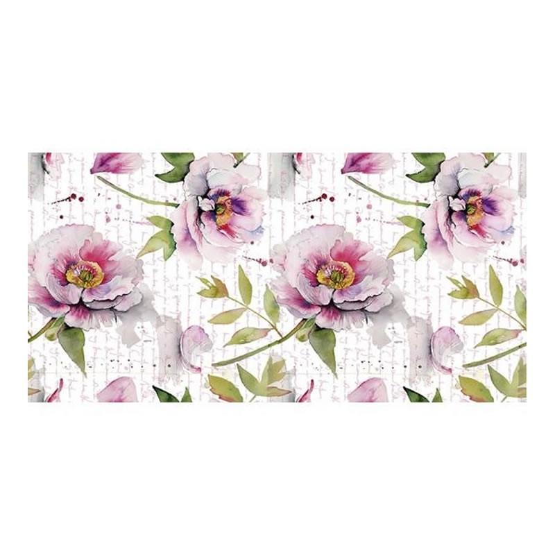 Papel sublimacion 30 x 60 cm Flowers letter