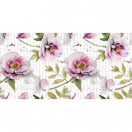 Lamina sublimacion 30 x 60 cm Flowers letter