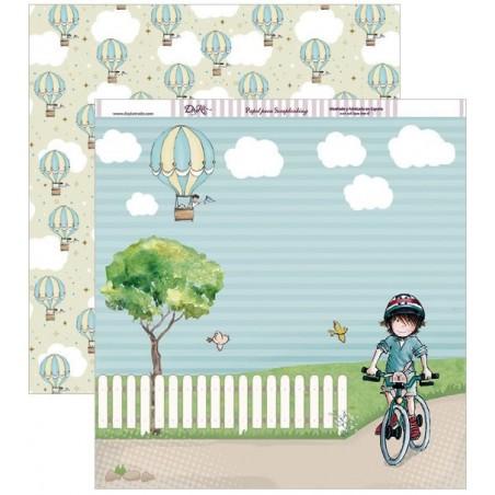 Papel Dayka Momentos inolvidables niño Una vuelta en bici SCP-209