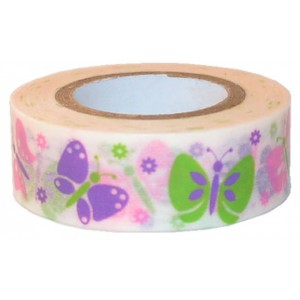 Washi tape Mariposas de colores