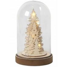 Campana decorativa base de madera
