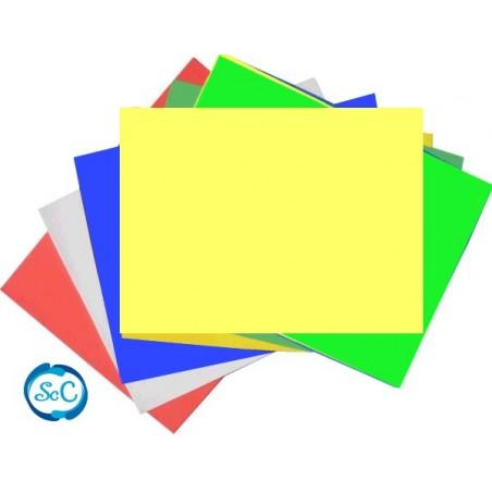 Goma eva 5 mm amarillo en planchas 47 x 70 cm