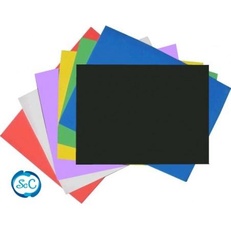 Goma eva negro en planchas 47 x 70 cm 5 mm
