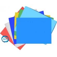 Goma eva azul en planchas 47 x 70 cm 5 mm