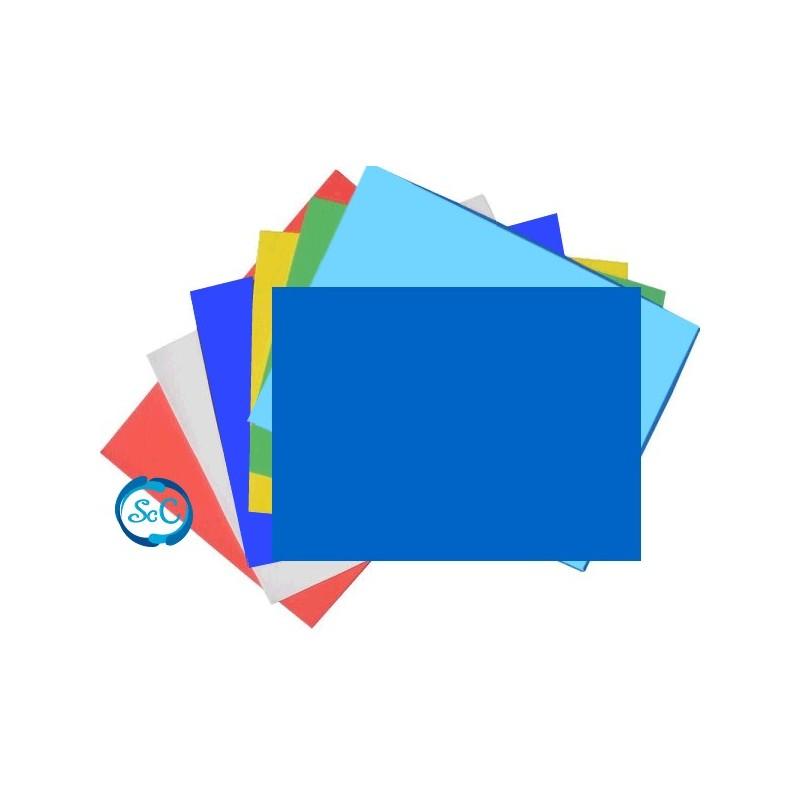Goma eva azul oscuro en planchas 47 x 70 cm 5 mm