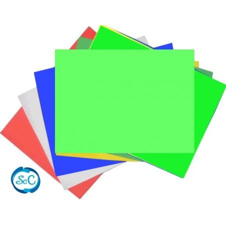 Goma eva 5 mm verde claro en planchas 47 x 70 cm