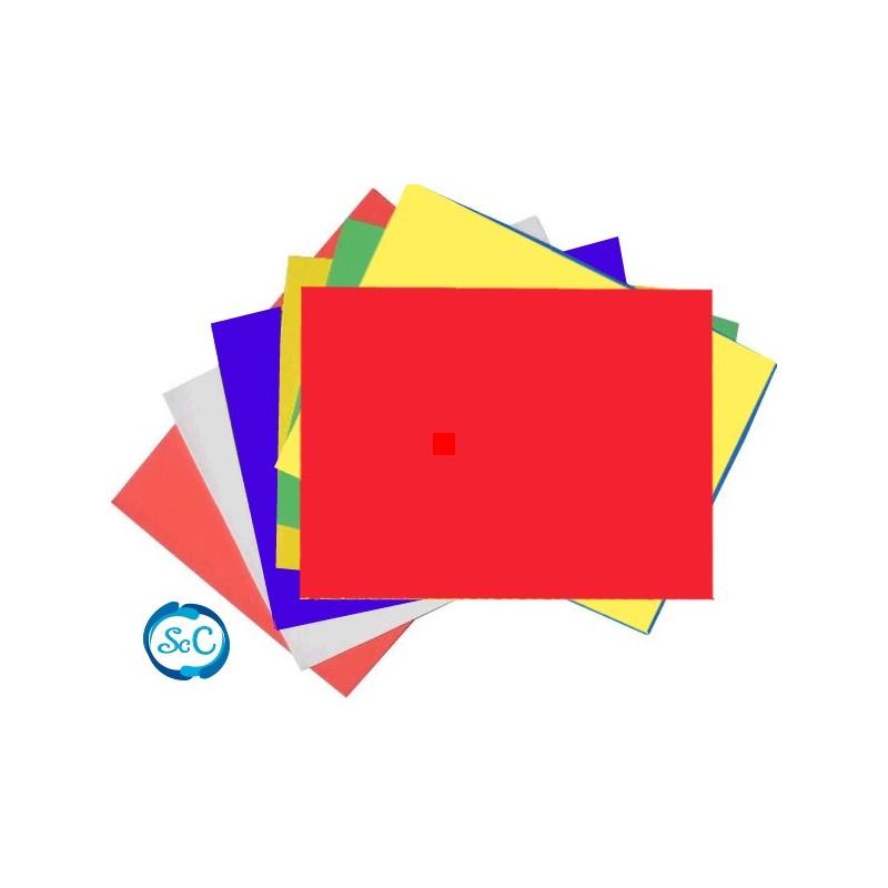Goma eva roja en planchas 47 x 70 cm 5 mm