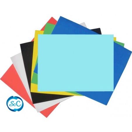 Goma eva azul claro 70 x 47 cm, 2 mm