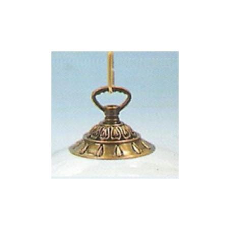 """Floron bronce para lampara """"Gotas"""""""