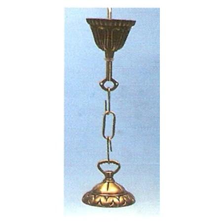 """Floron bronce para lampara, """"Cordon"""""""