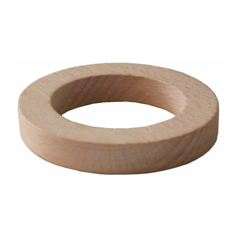 Soporte de madera para bolas