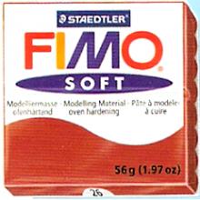 FIMO soft 56 gr. Rojo 24