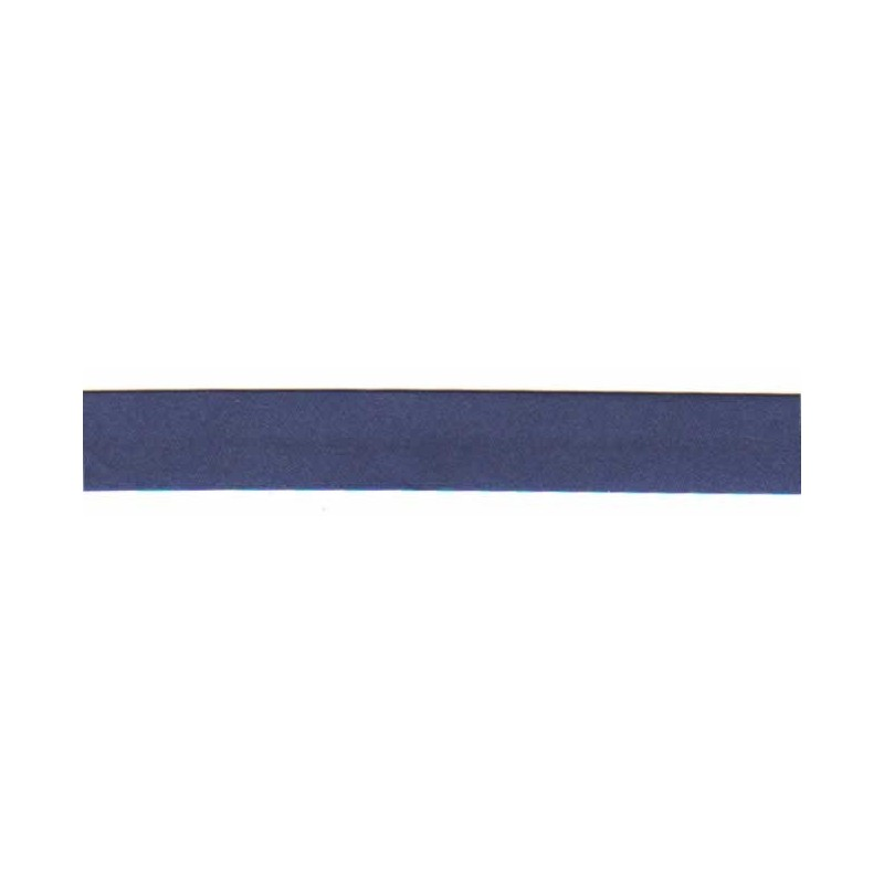 Bies raso azul marino 18 mm x 1 metro