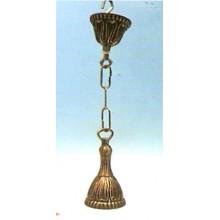 "Floron bronce para lampara, ""Alargado"""