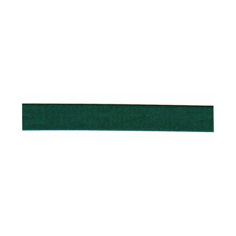 Bies raso verde oscuro 18 mm x 1 metro