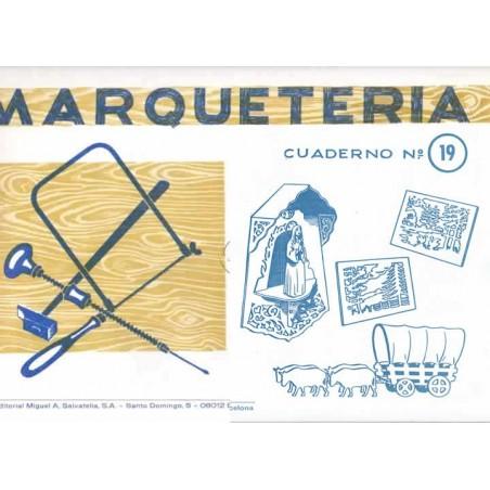 Cuaderno de marquetería nº 19 cuadros