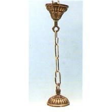 Florón bronce para lampara, modelo Concha