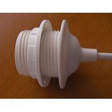 Cable de plastico para colgar lampara.