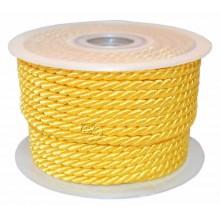 Cordon rayon amarillo oro 25 m 6 mm