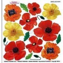 Lamina sospeso prediseñado flores