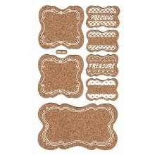 Etiquetas craft adhesivas 3