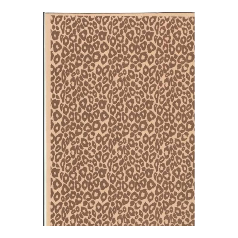 Planchas de goma eva estampada guepardo 2 mm
