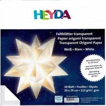Kit papiroflexia Estrella transparente