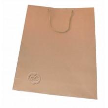 Bolsa regalo de papel craft marron 18 x 23 x 10 cm