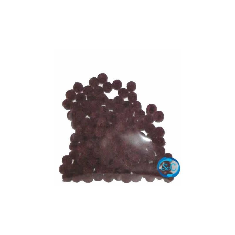 Bolas o pompones 1 cm amarillo
