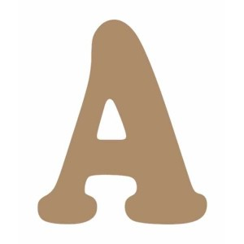 Letra de madera Z mayuscula 13 cm