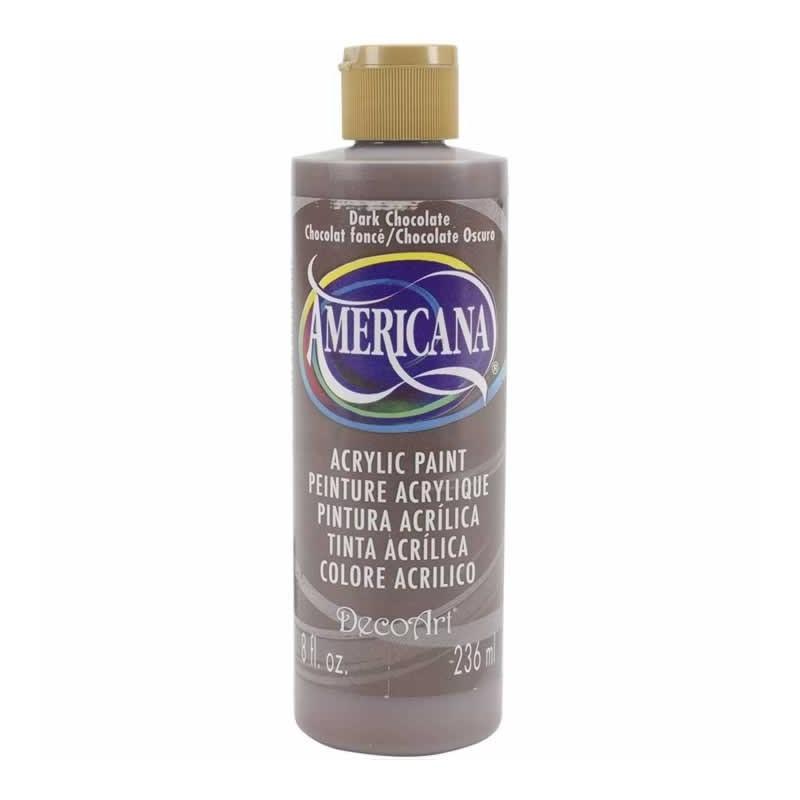 acrilica americana CHOCOLATE DAO67