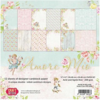 Papel scrap coleccion Amore Mio