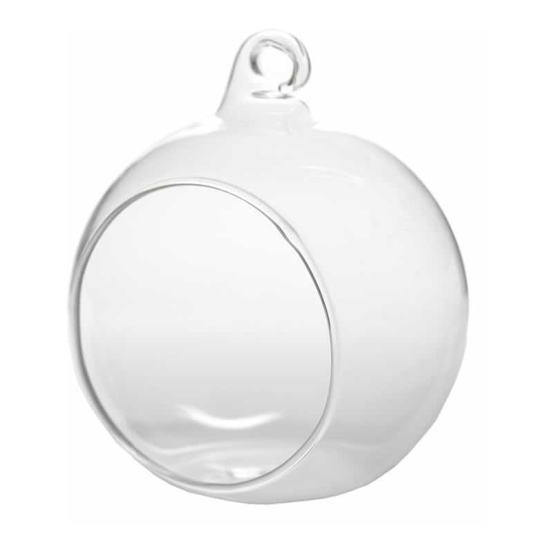 Bola de cristal de 8 cm con agujero