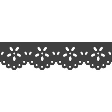 Perforadora de bordes Heyda flores