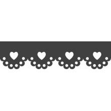 Perforadora de bordes Heyda corazones