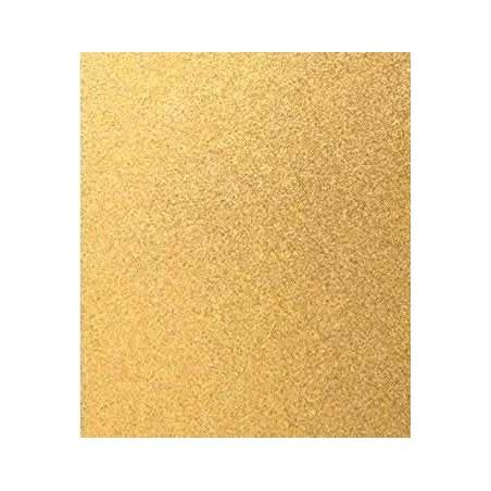 Cartulina con purpurina oro 50 x 65 cm