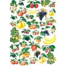 Papel decoupage con frutas 50 x 70 cm