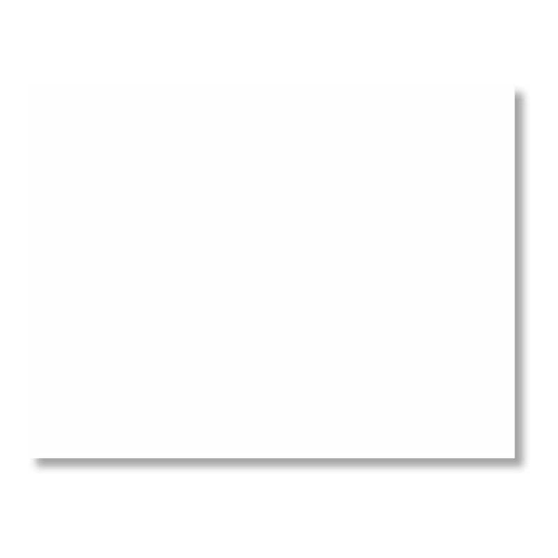 Cartulina 50 x 65 cm color blanco 180 gr